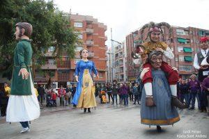 Trobada Gegants Festa Sant Andreu 2016 - 01