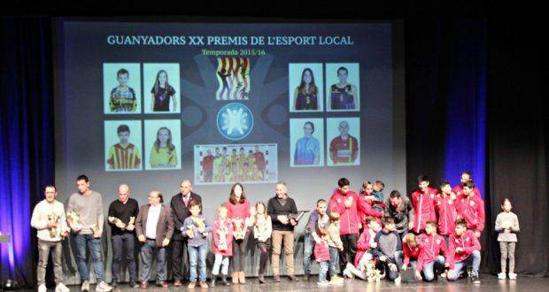 XX PREMI ESPORT LOCAL - Guanyadors