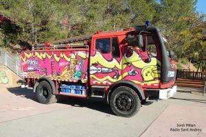 FiraJuga - Exhibició vehicles emergència i policia 05