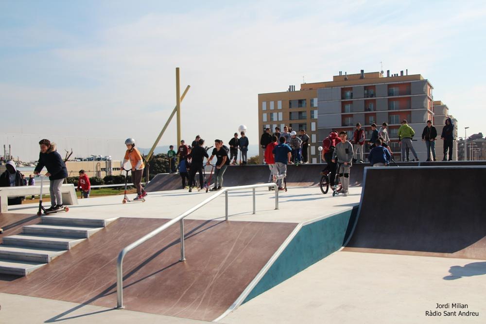 Inauguració Skate Park Sant Andreu Barca 06