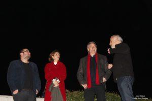 La Fortuna de Sílvia - Visita Juanjo Puigcorbé Teatre Núria Espert