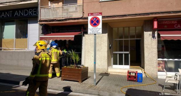 incendi carrer catalunya