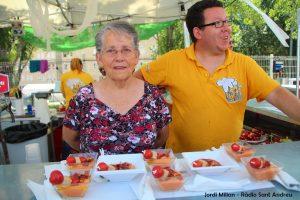 FIRA DE LA TAPA 05 Bar donde siempre - Salmorejo de formatge amb encenalls