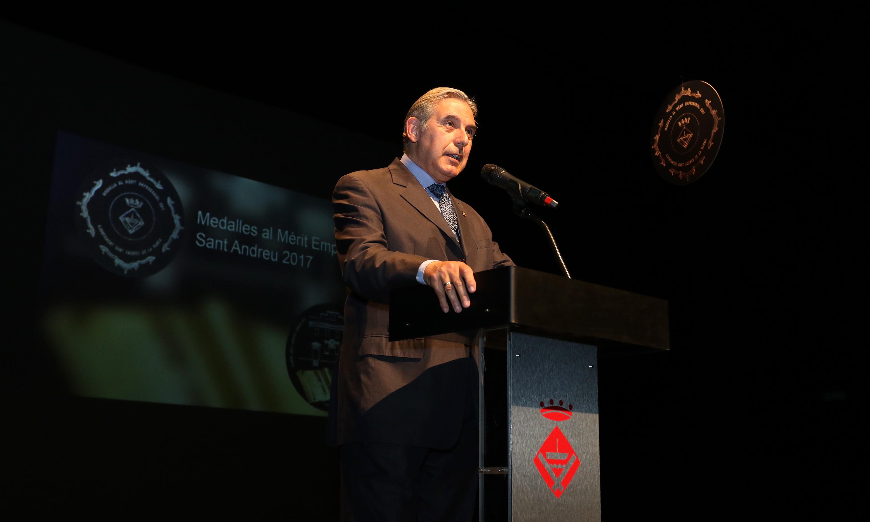 Medalles Mèrit empresarial 2017