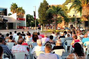 Conferència Alcalde Enric Llorca- Plaça Federico Garcia Lorca  01