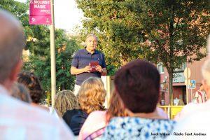Conferència Alcalde Enric Llorca- Plaça Federico Garcia Lorca  02
