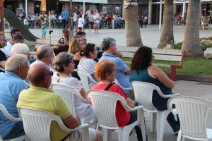 Conferència Alcalde Enric Llorca- Plaça Federico Garcia Lorca  04