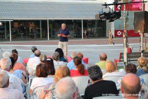 Conferència Alcalde Enric Llorca- Plaça Federico Garcia Lorca  05