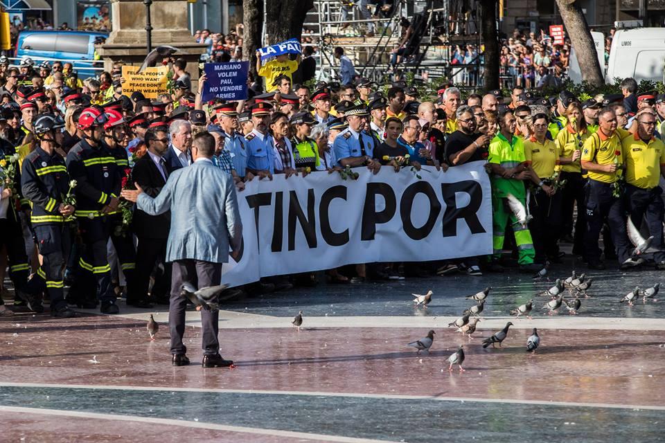 manfestacio contra terrorisme