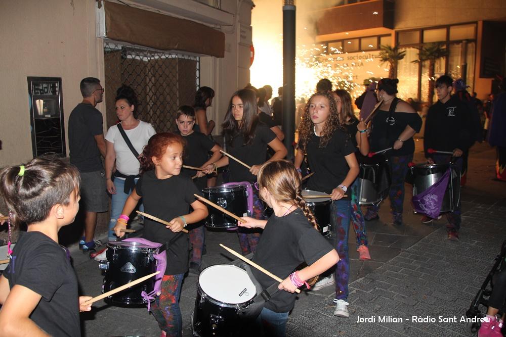 FESTA MAJOR 2017 - Correfoc  01 Colla de precussió infantil Ous de Drac