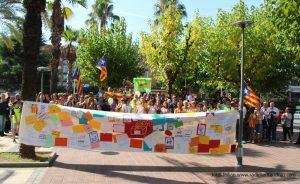 'Marató per la Democracia' Sant Andreu Barca 01