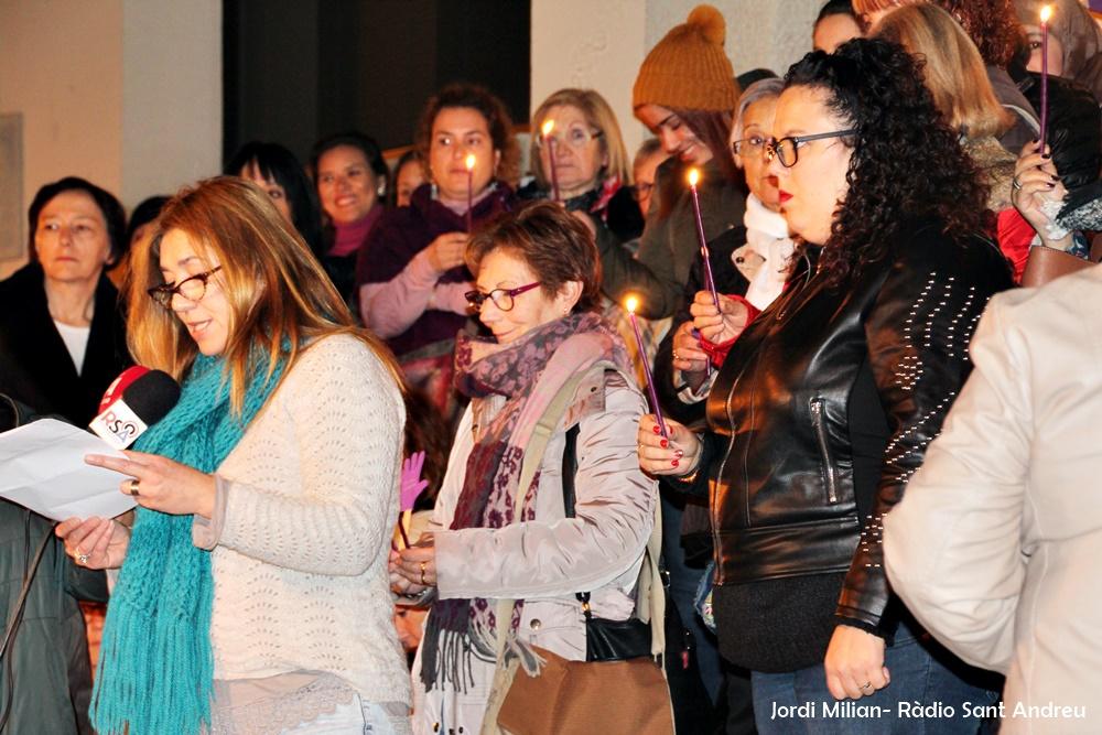Acte rebuig violència envers les dones SAB -01