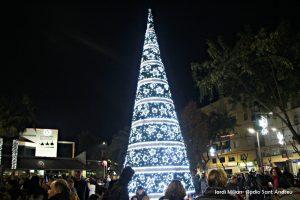 Encesa llums de Nadal Sant Andreu Barca 02