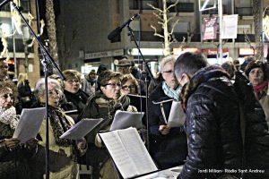 Encesa llums de Nadal Sant Andreu Barca 03