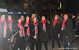 Encesa llums de Nadal Sant Andreu Barca 04