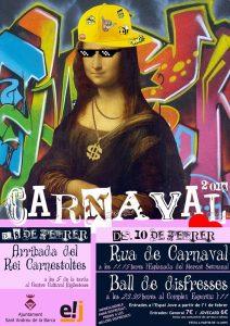 cartell carnaval 2018