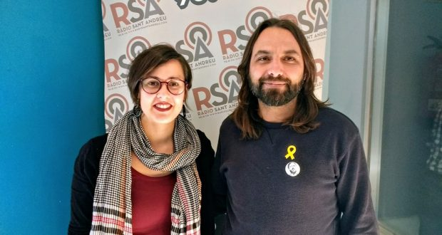 jordi Albert - Jenn Díaz diputats ERC