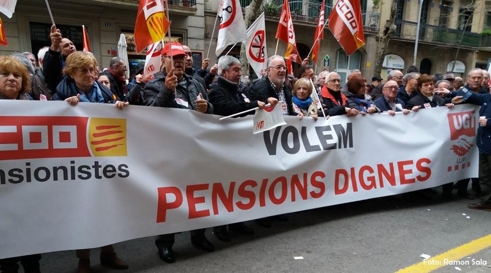 manifestacions pensions