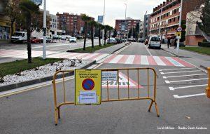 Obres carretera Sant Andreu de la Barca 01