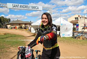 25 Descens Sant Andreu Barca - 05 Marine Cabirou gunyadora categoria femenina
