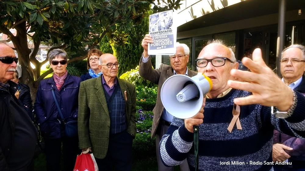 Concentració pensionistes 9 abril 2018