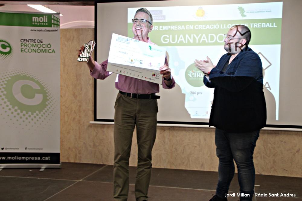 Concurs Iniciatives Empresarials 2018 - Premi 7 i Tria 03