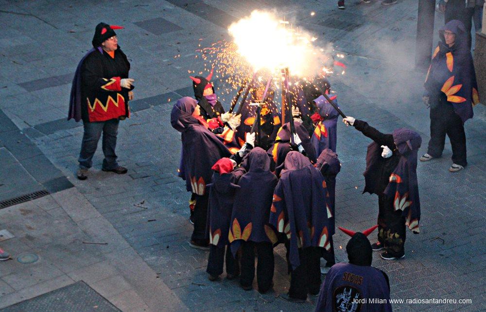 Correfoc de Sant Jordi 2018 - 09