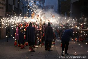Correfoc de Sant Jordi 2018 - 13