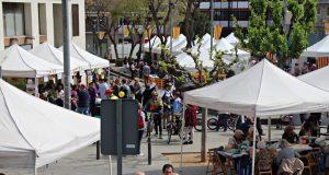 Sant Jordi 2018 Plaça Font de la Roda 02