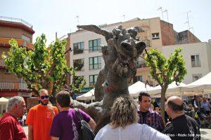 Sant Jordi 2018 Plaça Font de la Roda 12