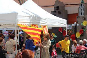 Sant Jordi 2018 Plaça Font de la Roda 16