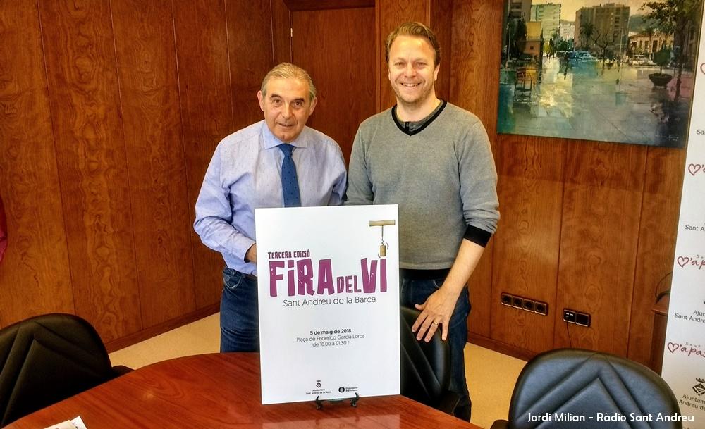 Presentació Fira del Vi 2018 de Sant Andreu de la Barca