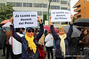 Concentració suport professors IES EL PALAU - 05
