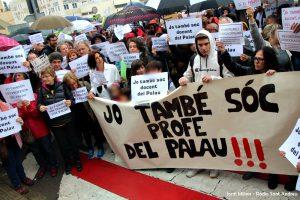 Concentració suport professors IES EL PALAU - 08