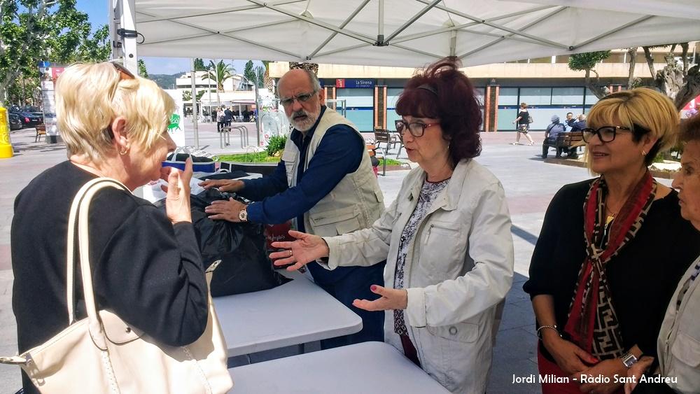 Recollida  roba Fòrum Solidari Entitats 2018