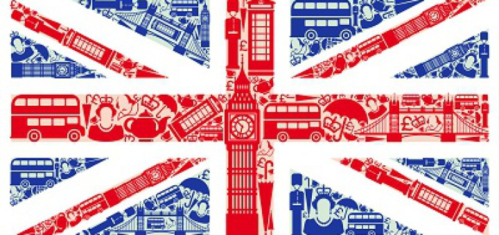 Flag of England from symbols of the United Kingdom and London