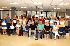 Cloenda cursos Servei Local de Català 2018 -01