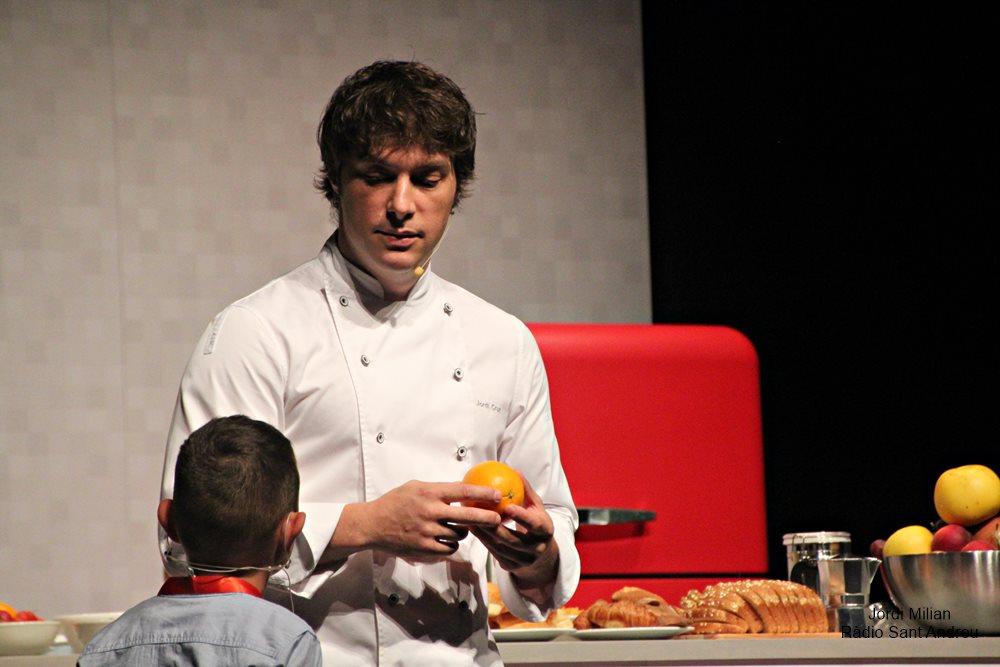 Master class xef Jordi Cruz a Sant Andreu Barca - 02