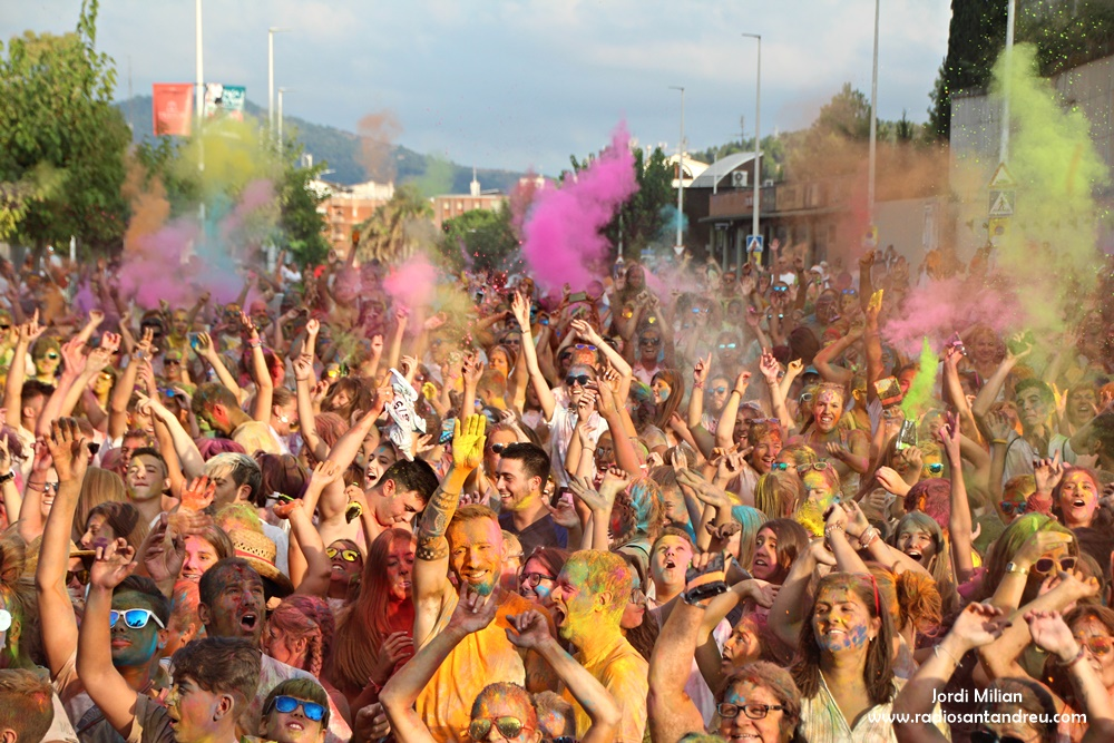 FESTA MAJOR 2018 - HOLI PARTY 25