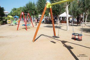 Remodelació jocs infantils plaça L'Onze Setembre  05
