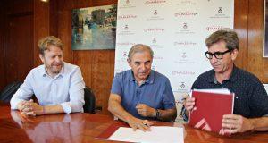 Signatura conveni Ajuntament -Acssab 2018
