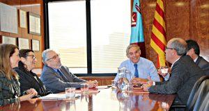 Acord Entre Generalitat i  Ajuntaments Martorell i Sant Andreu Barca per promoure Hospital Martorell