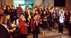 Acte rebuig violència envers les dones Sant Andreu 2018 -02