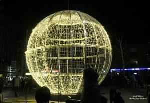 Encesa il·luminació nadalenca  de Sant Andreu de la Barca 02