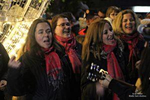 Encesa il·luminació nadalenca  de Sant Andreu de la Barca 04