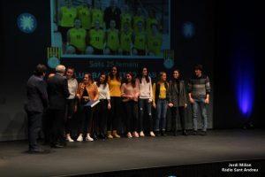 PREMIS ESPORT SAB 2018 - 07 Millor equip Sots 25 femení de Basquet