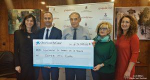 Acord Ajuntament i Caixabank