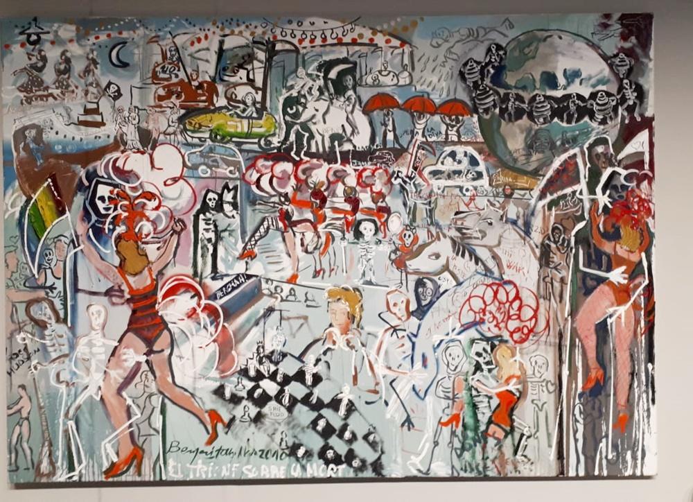 quadre Benjamí Tous