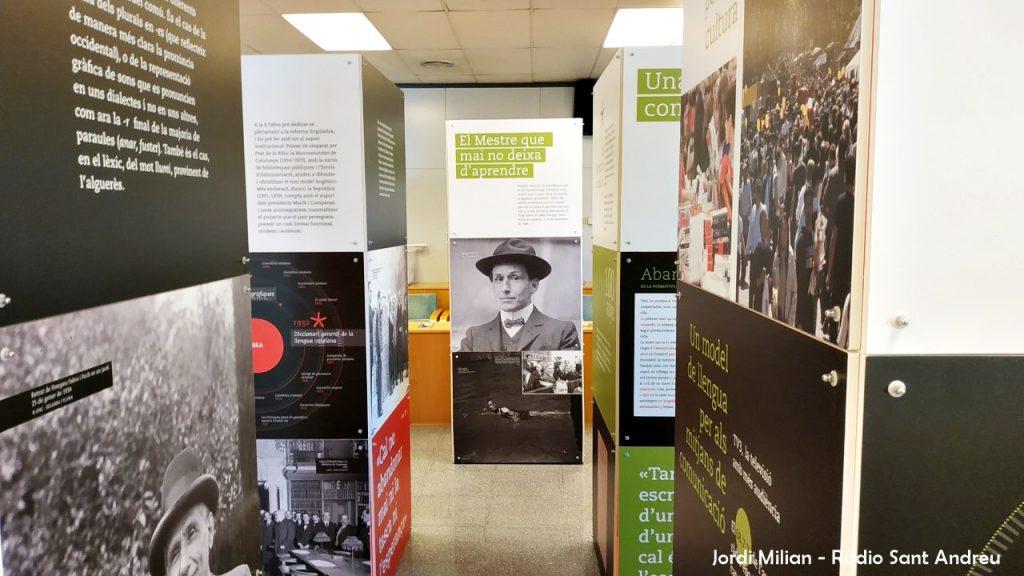 Exposició Pompeu Fabra a Sant Andreu de la Barca 04