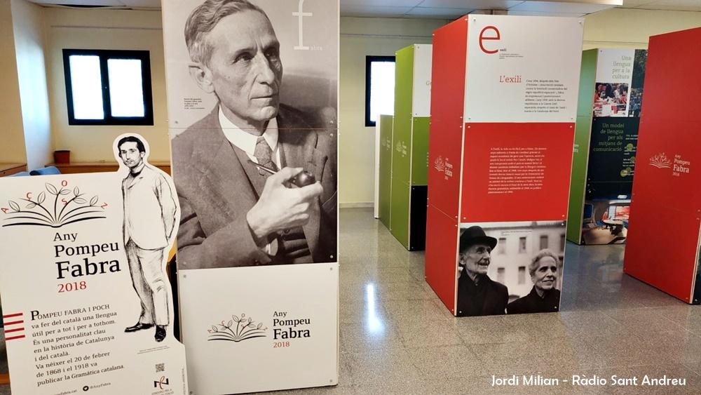 Exposició Pompeu Fabra a Sant Andreu de la Barca 05
